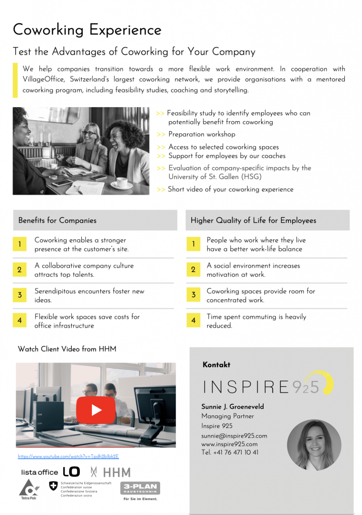 Coworking Experience - Inspire 925