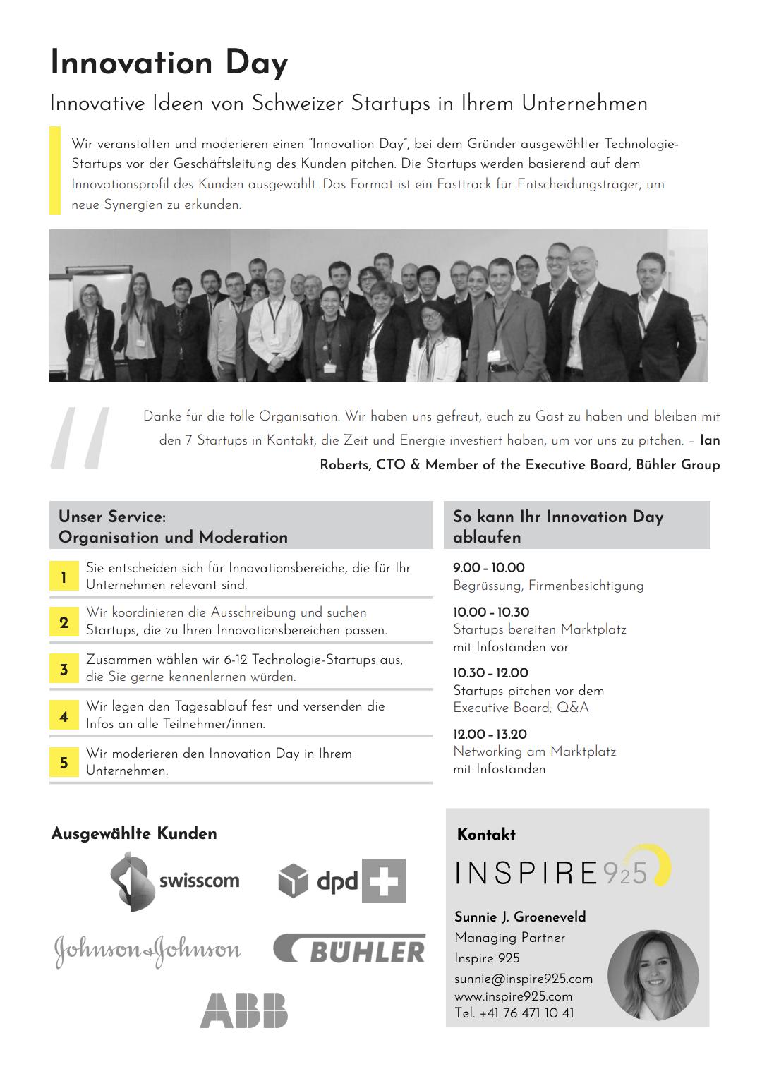 Innovation Day Schweiz